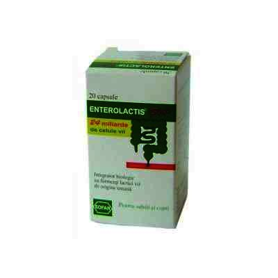 Enterolactis Plus 316 mg -cps x 20 - Sofar
