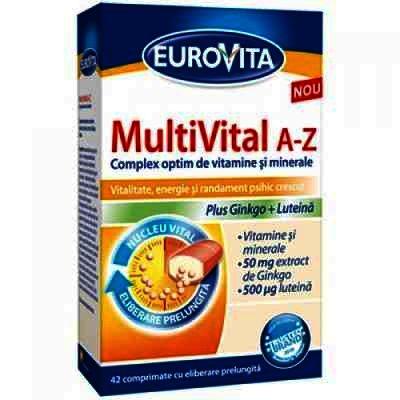 Eurovita MultiVital A-Z -cps x 42 - GSK