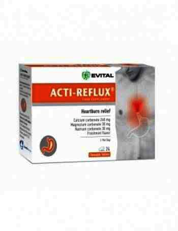 Evital Acti-Reflux -cpr x 24