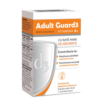 Evital Adult Guard D3 2000UI -sol x 10ml
