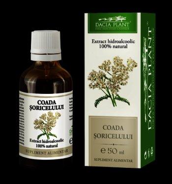 Extract Hidroalcoolic Coada Soricelului x 50 ml - Dacia Plant