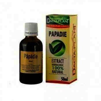 Extract Hidroalcoolic Papadie x 50 ml - Dacia Plant
