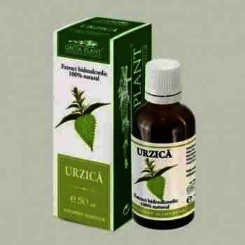 Extract Hidroalcoolic Urzica x 50 ml - Dacia Plant