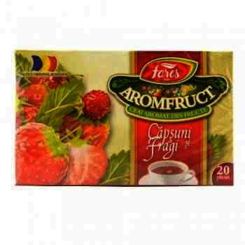 Fares Ceai AromFruct Capsuni & Fragi