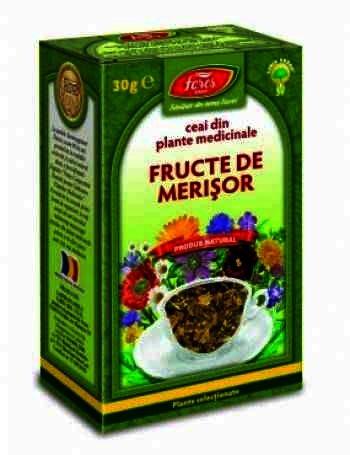 Fares Ceai Fructe de Merisor -vrac x 30 g
