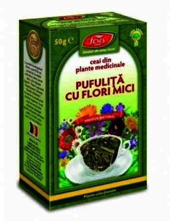 Fares Ceai Pufulita Cu Flori Mici 50g vrac