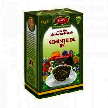 Fares Ceai Seminte de In x 50 g