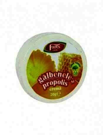 Fares Crema Galbenele+Propolis 20g