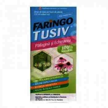 Faringo Tusiv Patlagina si Echinacea- sirop x 120ml -Terapia Ranbaxy