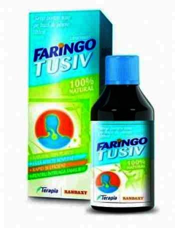 Faringo Tusiv - sirop x 100ml - Terapia Ranbaxy