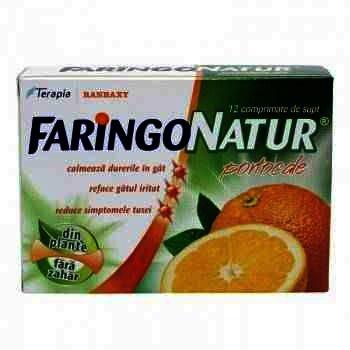 FaringoNatur Portocale-cpr. x 12-Terapia