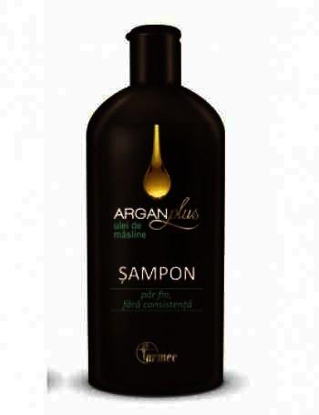 Farmec ArganPlus Ulei Masline Sampon x 250 ml