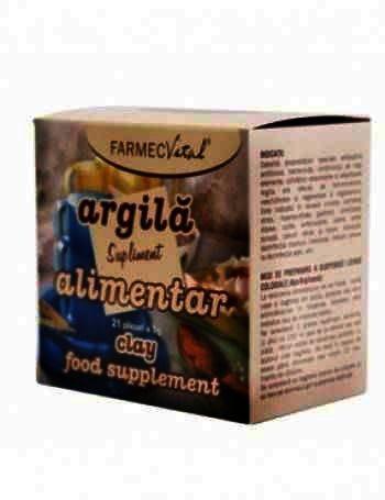 Farmec Argila-sup.nutr. x 21plic