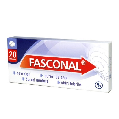 Fasconal -cpr x 20 - Gedeon Romania