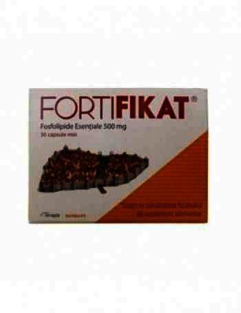 Fortifikat 500 mg -cps x 30 - Terapia