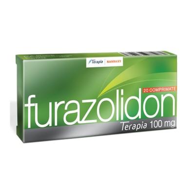 Furazolidon 100 mg -cpr x 20 - Terapia Ranbaxy