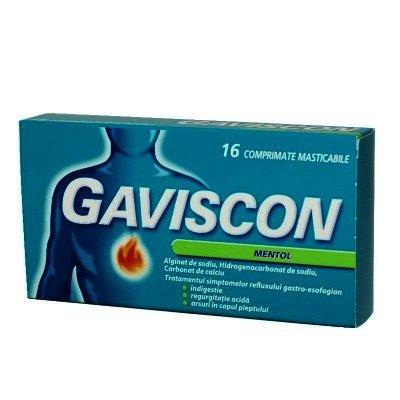 Gaviscon Mentol -cpr.film x 16