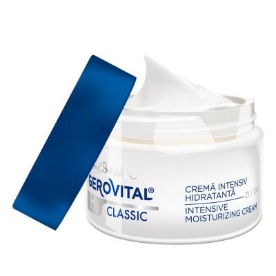Gerovital H3 Classic Crema Intensiv Hidratanta x 50 ml