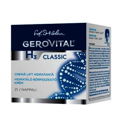 Gerovital H3 Classic Crema Lift Hidratanta de Zi x 50 ml