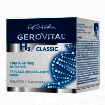 Gerovital H3 Crema Grasa Nutritiva x 30 ml