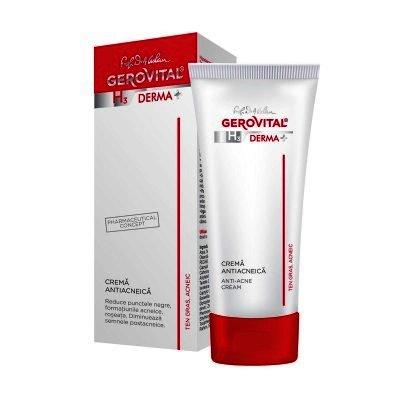 Gerovital H3 Derma Plus Crema Antiacneica x 50 ml