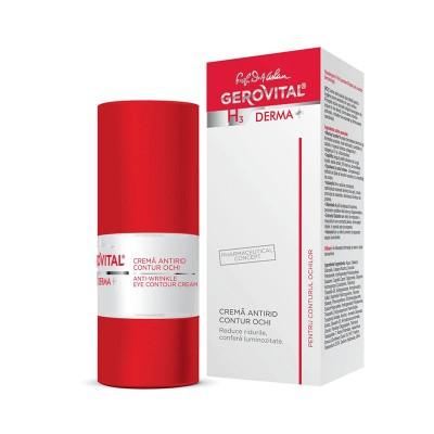 Gerovital H3 Derma Plus Crema Antirid Contur Ochi x 15 ml