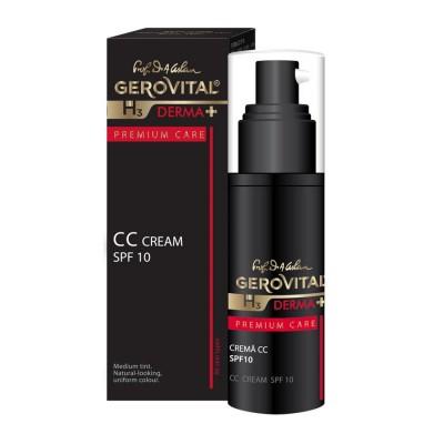 Gerovital H3 Derma Plus Premium Care Crema CC SPF10 x 30ml