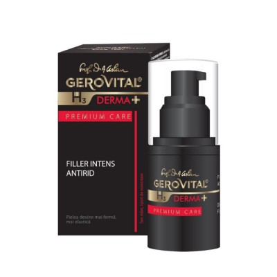 Gerovital H3 Derma Plus Premium Care Filler Intens Antirid x 15ml