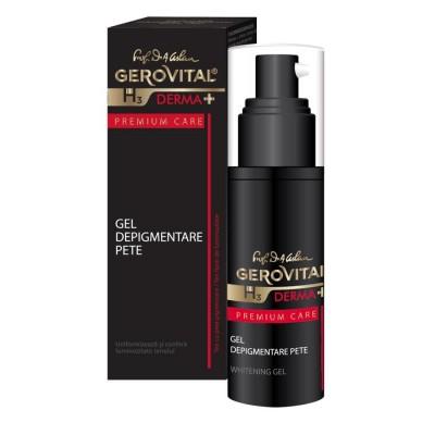 Gerovital H3 Derma Plus Premium Care Gel Depigmentare Pete x 30ml