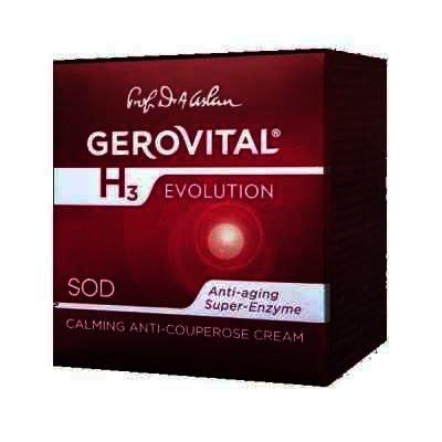 Gerovital H3 Evolution Crema Anticuperzoica Anticupeozica x 50 ml