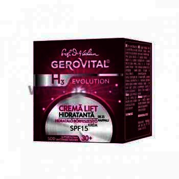 Gerovital H3 Evolution Crema Lift Hidratanta FP15 x 50 ml