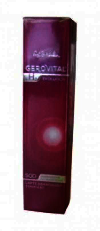 Gerovital H3 Evolution Lapte Demachiant Tonifiant x 100 ml
