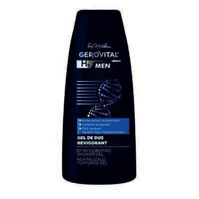 Gerovital H3 Men Gel Dus Revigorant x 400 ml