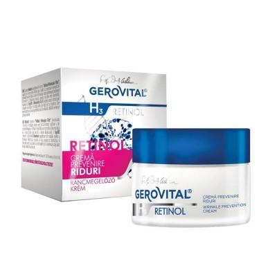 Gerovital H3 Retinol Crema Prevenire Riduri x 50 ml