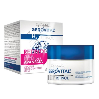Gerovital H3 Retinol Crema Regenerare Avansata