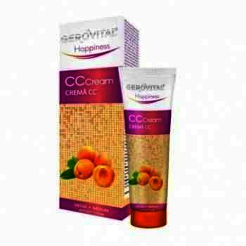 Gerovital Hapiness Crema CC Mediu x 50 ml