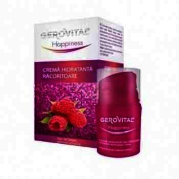 Gerovital Hapiness Crema Hidratanta Racoritoare x 30 ml