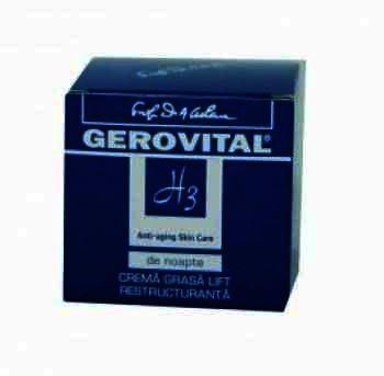 Gerovital Plant Bio Crema Nutritiva Noapte x 50 ml