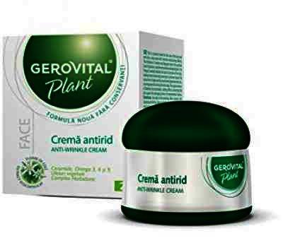 Gerovital Plant Crema Antirid x 50 ml