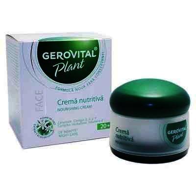Gerovital Plant Crema Nutritiva Noapte x 50 ml