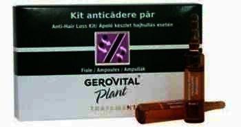 Gerovital Plant Kit Tratament Regenerant Par -fl x 10