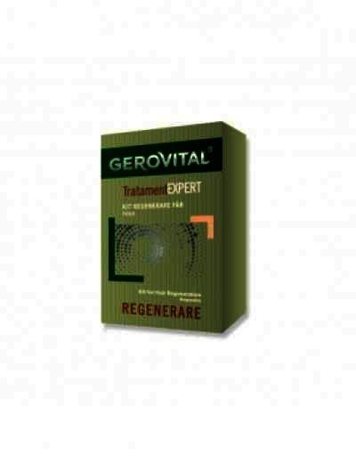 Gerovital Plant Kit Tratament Regenerant Par -fl x 20