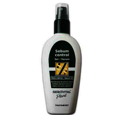 Gerovital Plant Ser Sebum Control x 100 ml