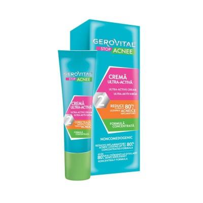 Gerovital Stop Acnee Crema Ultra-Activa x 15 ml