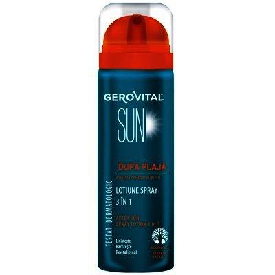 Gerovital Sun Lotiune Spray dupa Plaja 3 in 1 x 150 ml