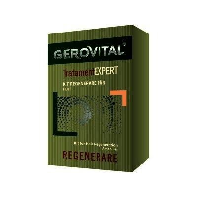 Gerovital Tratament Expert Kit Regenerare Par -fiole x 10