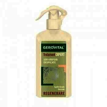 Gerovital Tratament Expert Ser cu efect No-Frizz x 150 ml