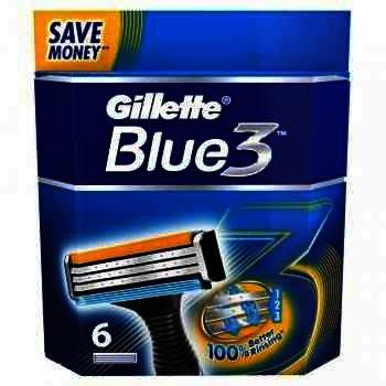 Gillette Aparat Ras Blue 3 x 6