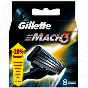 Gillette Rez. Mach 3 x 2Buc
