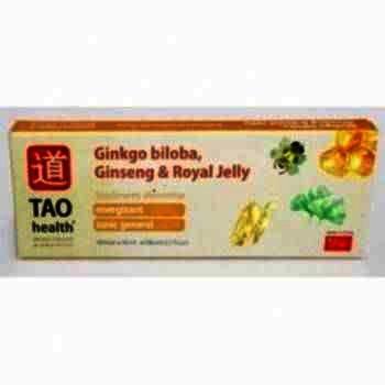 Ginkgo Biloba+Ginseng+Royal Jelly - fl. x 10 -Minerva